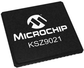 KSZ9021GN, Гигабитный Ethernet-трансивер с поддержкой GMII / MII [QFN-64 EP]