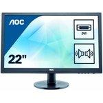 "Монитор ЖК AOC Professional E2275SWJ (/01) 21.5"", черный"