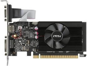 Видеокарта MSI GT 710 1GD3 LP, 1Гб, DDR3, Low Profile, Ret