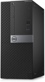 Компьютер DELL Optiplex 5040, Intel Core i5 6500, DDR3L 4Гб, 500Гб, Intel HD Graphics 530, DVD-RW, Linux, черный и (5040-9938)