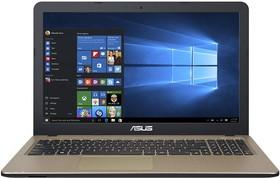 """Ноутбук ASUS X540SC-XX073T, 15.6"""", Intel Pentium N3700, 1.6ГГц, 2Гб, 500Гб, nVidia GeForce 810M - 1024 Мб, Windows 10 (90NB0B21-M01290)"""
