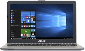"Ноутбук Asus X541SA-XX327T Pen N3710/2Gb/ 500Gb/405/15.6""/ HD/W1064/black/ WiFi/BT/Cam"