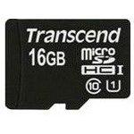 Карта памяти microSDHC UHS-I TRANSCEND 16 ГБ, 60 МБ/с, 400X ...