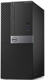 Компьютер DELL Optiplex 3046, Intel Core i3 6100, DDR4 4Гб, 500Гб, Intel HD Graphics 530, DVD-RW, Linux, черный и (3046-3324)