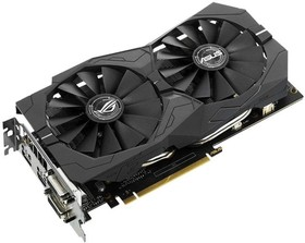 Видеокарта ASUS GeForce GTX 1050TI, STRIX-GTX1050TI- O4G-GAMING, 4Гб, GDDR5, OC, Ret