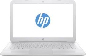 "Ноутбук HP Stream 14-ax007ur, 14"", Intel Celeron N3050, 1.6ГГц, 2Гб, 32Гб SSD, Intel HD Graphics , Windows 10, белый [y7x30ea]"