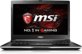 """Ноутбук MSI GS32 7QE(Shadow)-014RU, 13.3"""", Intel Core i7 7500U, 2.7ГГц, 16Гб, 256Гб + 256Гб SSD, nVidia GeForce GTX (9S7-13F212-014)"""