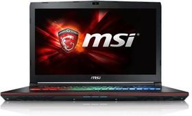 """Ноутбук MSI GE72 6QF(Apache Pro)-229RU, 17.3"""", Intel Core i7 6700HQ, 2.6ГГц, 8Гб, 1000Гб, 128Гб SSD, nVidia GeForce (9S7-179441-229)"""