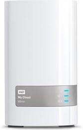 Сетевое хранилище WD My Cloud Mirror WDBWVZ0040JWT-EESN, 4Тб