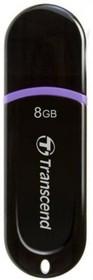 Флешка USB TRANSCEND Jetflash 340 8Гб, USB2.0, черный [ts8gjf340]