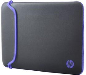 "Чехол для ноутбука HP Chroma 14.0"" неопрен серый [v5c28aa]"