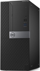 Компьютер DELL Optiplex 7040, Intel Core i5 6500, DDR4 8Гб, 500Гб, Intel HD Graphics 530, DVD-RW, Windows 7 (7040-0361)