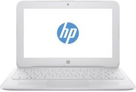 """Ноутбук HP Stream 11-y006ur, 11.6"""", Intel Celeron N3050, 1.6ГГц, 4Гб, 32Гб SSD, Intel HD Graphics , Windows 10, белый [y7x25ea]"""