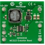 ADM00939, Evaluation Board, MIC3223 LED Driver ...