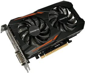 Видеокарта GIGABYTE GeForce GTX 1050 OC 2G, GV-N1050OC-2GD, 2Гб, GDDR5, OC, Ret