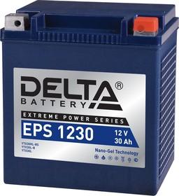 EPS 1230, Аккумулятор свинцовый 12B-30Ач 166х130х175 (для мототехники)