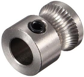 MK7 Stainless Steel Extrusion Gear for 1.75mm, Зубчатая шестерня для подачи нити в экструдер