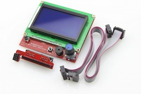 RepRapDiscount Full Graphic Smart Controller (LCD12864 display), LCD дисплей для платформы Ramps 1.4