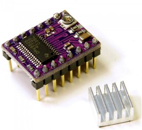 DRV8825 Stepper driver, Драйвер шагового двигателя на базе микросхемы DRV8825