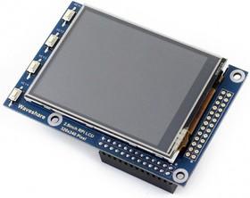 Фото 1/3 2.8inch RPi LCD (A), TFT дисплей 320×240px с резистивной сенсорной панелью для Raspberry Pi