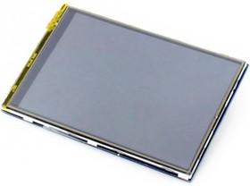 Фото 1/3 3.5inch RPi LCD (B), IPS дисплей 320×480px с резистивной сенсорной панелью для Raspberry Pi