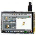 Фото 2/3 3.5inch RPi LCD (B), IPS дисплей 320×480px с резистивной сенсорной панелью для Raspberry Pi
