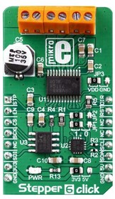 Фото 1/2 MIKROE-3214, DRV8886AT Motion Motor Control Click Board