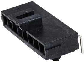 172310-1108, Разъем типа провод-плата, 3.5 мм, 8 контакт(-ов), Штыревой Разъем, Ultra-Fit 172310 Series