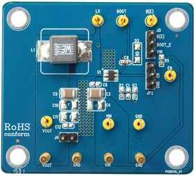 EVB_RT6212AHGJ6F, Evaluation Board, RT6212A DC/DC Converter, 1.2.V, 2A Output, 4.5V To 18V Input