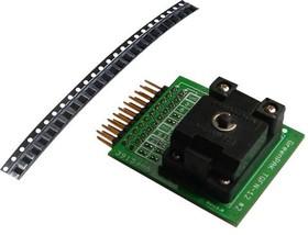 SLG46121V-SKT, Development Kit Accessory, QFN (1.6mm x 1.6mm) Socket Adapter, 50 x SLG46121V Samples, GreenPAK