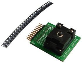 SLG46537V-SKT, Development Kit Accessory, QFN (2mm x 3mm) Socket Adapter, 50 x SLG46537V Samples, GreenPAK