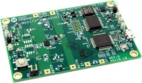MAX17302XEVKIT#, Evaluation Board, MAX17302X Fuel Gauge IC, I2C, 1-Level SHA-256 Authenticator, 1-Cell