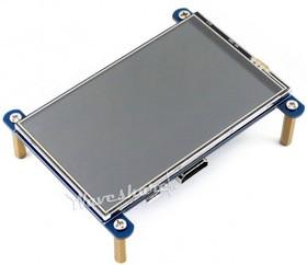 Фото 1/3 4inch HDMI LCD, IPS дисплей 800×480px с резистивной сенсорной панелью для Raspberry Pi