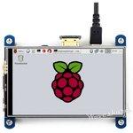 Фото 3/3 4inch HDMI LCD, IPS дисплей 800×480px с резистивной сенсорной панелью для Raspberry Pi