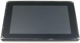 Фото 1/2 7inch Capacitive Touch LCD (D), Цветной графический LCD дисплей 1024×600px с емкостной сенсорной панелью, RGB/LVDS