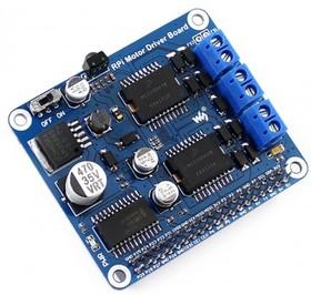 Фото 1/2 RPi Motor Driver Board, Плата управления DC и шаговыми двигателями для Raspberry Pi