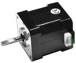MT-1704HS180A, Шаговый мотор Nema 17 (42мм), 1.8°, 1.8А, L=48мм, Ф вала 5мм
