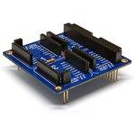 mikroBUS Click - PHPoC Shield, Плата переходник для подключения модулей mikroBUS к платформам PHPoC Black/Blue