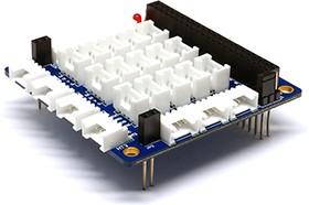 Grove - PHPoC Shield, Плата переходник для подключения модулей Grove к платформам PHPoC Black/Blue
