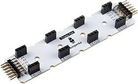 Фото 1/3 Troyka-Pad 1 x 4, Хаб для быстрого подключения одноюнитовых и двухюнитовых модулей серии Troyka