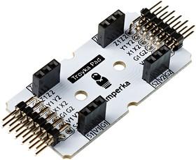 Фото 1/3 Troyka-Pad 1 x 2, Хаб для быстрого подключения одноюнитовых и двухюнитовых модулей серии Troyka