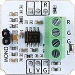 Фото 2/3 Troyka-Line Out Wires, Аудиовыход c винтовыми клемами для Arduino проектов