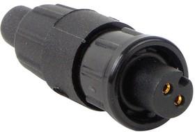 16982-6PG-522, CIRCULAR CONNECTOR, PLUG, 6 POSITION PIN, CABLE