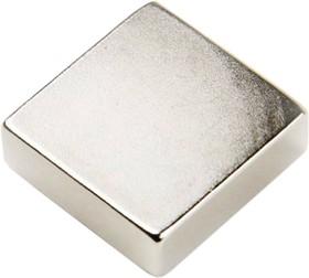 B 8х8х4, N35H, Магнит квадрат до 1.79 кг (покрытие Ni)