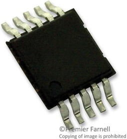ADG884BRMZ, Аналоговый переключатель, двухканальный, SPDT, 2 канал(-ов), 0.37 Ом, 1.8В до 5.5В, MSOP