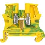 Блок клеммный Viking3 10х10мм жел/зел. Leg 037173