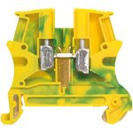 Блок клеммный Viking3 2.5х5мм желт./зел. Leg 037170