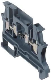 Блок клеммный Viking3 2.5кв.мм шаг 5мм с диодом Leg 037154