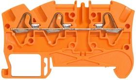 Блок клеммный Viking3 4кв.мм шаг 5мм 1вх./2вых. неотк.цепь Leg 037242