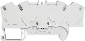 Блок клеммный Viking3 4кв.мм шаг 5мм 2вх./2вых. Leg 037246